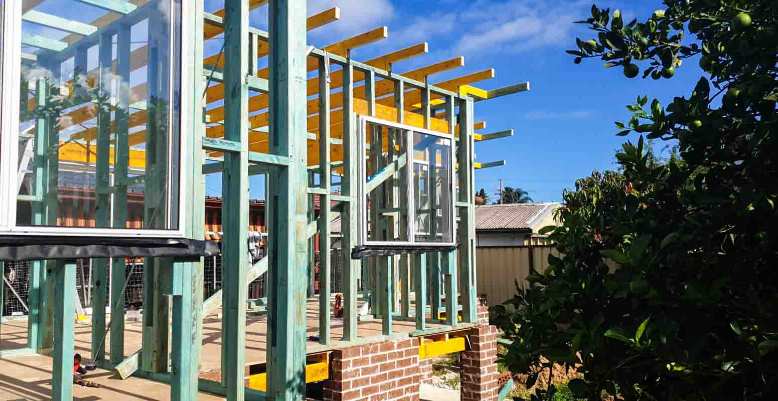 Small building renovation projects in Merrylands by a home renovation specialist using a licensed builder Dylan Doncevski from Passion Built doing framing for grannyflats or house extensions